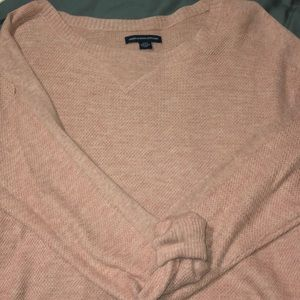 Soft pink sweater 👛